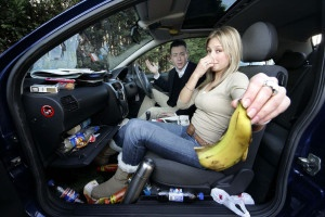 smelly car- auto odor removal maryland